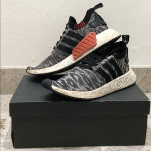 NMD R2 TIGER USED SIZE 9.5